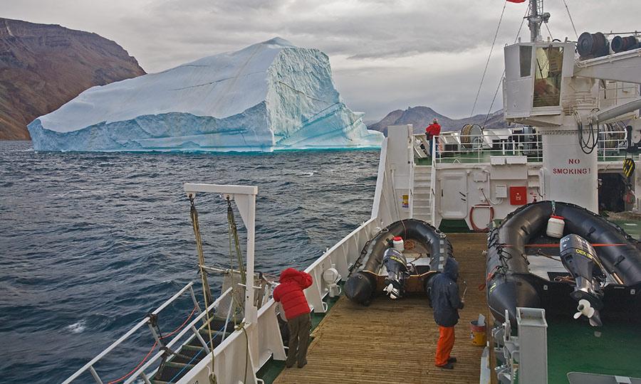 Iceberg Monitoring and Towing